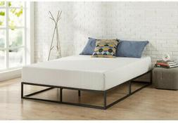 10 in. Platform Bed Frame Steel, Low Profile Foundation with