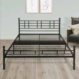 12 extra sturdy metal platform bed frame