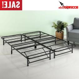 12 Inch METAL PLATFORM BED FRAME Queen Twin Full King Size M