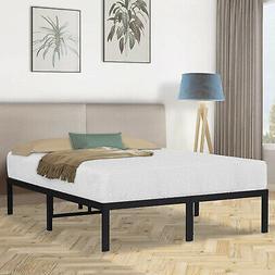 Olee Sleep 14 Inch Dura Metal Steel Slate Bed Frame - T2000