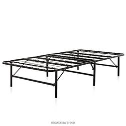 WEEKENDER 14 Inch Folding Platform Bed Frame - Extra Storage