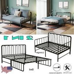 14 inch heavy duty slat bed frame