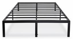 14 Inch Heavy Duty Steel Slat Bed Frame Mattress Foundation