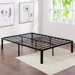 VECELO 14-Inch Metal Platform Bed Frame, Heavy Duty Steel Sl
