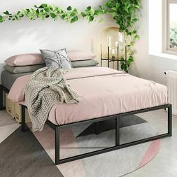 14 Inch Platform Bed Frame, Mattress Foundation, No Box Spri