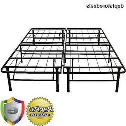 14 Platform Metal Bed Frame, Queen