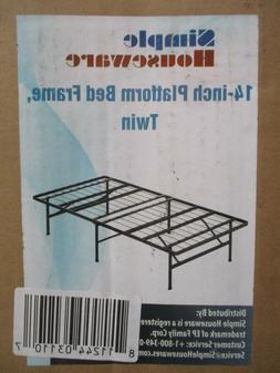 Simple Houseware 14in Twin Size Mattress Foundation Platform