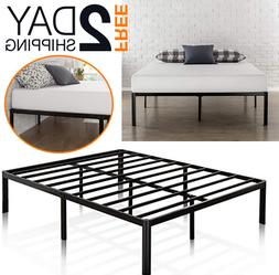 Zinus 16 Inch Metal Platform Bed Frame with Steel Assorted S