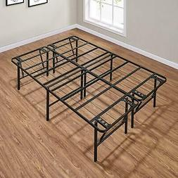 18 inch metal bed frame foldable sturdy