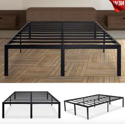 18 Inch Metal Steel Slat Bed Frame for Mattress Durable King