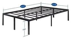 Olee Sleep 18 Inch Tall Heavy Duty Steel Slat/Non-slip Suppo