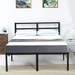 18 inch tall metal slats bed frame