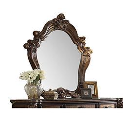 Acme Furniture 21104 Versailles Mirror, Cherry Oak