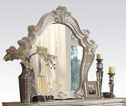 Acme Furniture 21134 Versailles Mirror, Bone White
