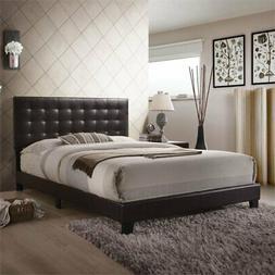 ACME Furniture 26350Q Masate Queen Bed in Espresso PU Queen