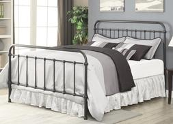Coaster Home Furnishings Livingston Full Metal Bed Dark Bron