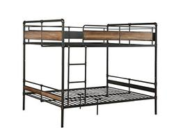 Acme Furniture 37730 Brantley II Bunk Bed, Sandy Black and D