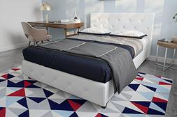 DHP 4213129SET Dakota Upholstered Bed with Signature Sleep M