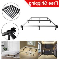 7 Inch Full Size Platform Bed Frame Steel Mattress 75*54*7in