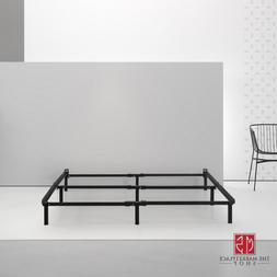 "ZINUS 7"" Steel Bed Frame Black Low Profile Adjustable Twin F"