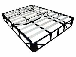 """9"""" Steel Base Mattress Foundation Platform Metal Bed Frame w"""