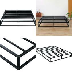 9 inch modern metal platform bed frame