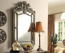 Acme Furniture 97232 Kelsey Accent Wall Mirror, Bronze