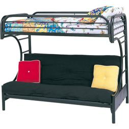 ACME Furniture 02091W-BK Eclipse Twin over Full/Futon Bunkbe