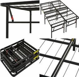 AmazonBasics Platform Bed Frame, Black, King