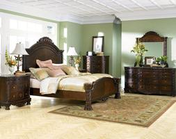 Ashley Furniture B553 North Shore - Queen or King Mansion Be