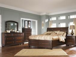 Ashley Furniture B697 Porter King Sleigh Storage Bed Frame B