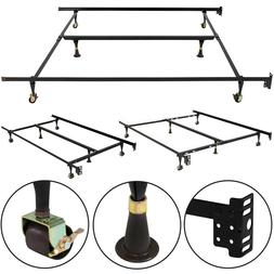 Best Choice Products Metal Bed Frame Adjustable Queen Full T