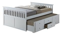 Broyhill Kids Marco Island Full Captain's Bed with Trundle,
