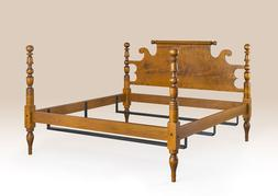 Cannonball Bed Frame - Queen Size - New Country Bedroom Furn