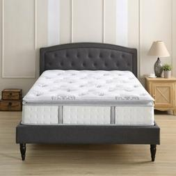 Classic Brands Mercer Pillow Top Cool Gel Memory Foam and In