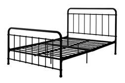 DHP Brooklyn Metal Iron Bed w/ Headboard and Footboard, Adju