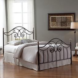 Fashion Bed Group Dynasty Complete Metal Bed and Steel Suppo