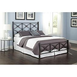 Fashion Bed Group Marlo Complete Bed with Metal Panels and S
