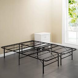 "Full Size Steel Foundation Bed Frame Mattress Base 14"" High"