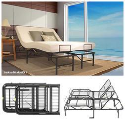 King Size Head Foot Adjustable Bed Frame Lift Furniture Meta