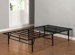 Kings Brand Furniture Platform Bed Frame Mattress Foundation