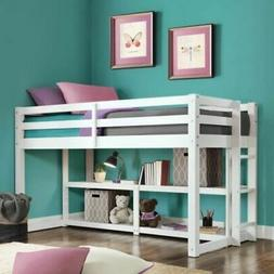 Loft Bed Frame Low Junior For Kids Girls Boys Teens Rail Org