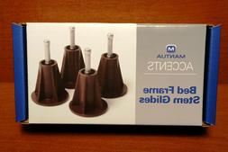 Mantua Stem Glides For Bed Frames **NEW IN BOX**