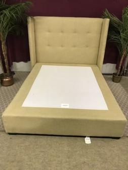 Mitchell Gold Bob Williams Linen Queen Size Bed Frame