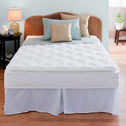 "Night Therapy 10"" Supreme Pillow Top Spring Mattress  Bed"