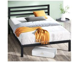 Simple Bed Frame for Men Women Big Sturdy Wide Elegant Uniqu