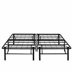 Steel Box Spring Replacement Metal Platform Bed Frame - Stan