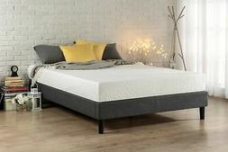Zinus Essential Upholstered Platform Bed Frame / Mattress Fo