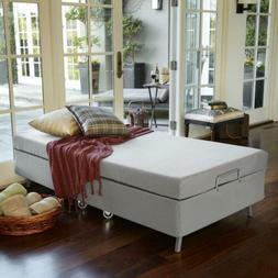 Zinus Memory Foam Resort Folding Guest Bed with Wheels, Stan
