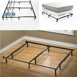 Zinus Michelle Compack Adjustable Steel Bed Frame, for Box S